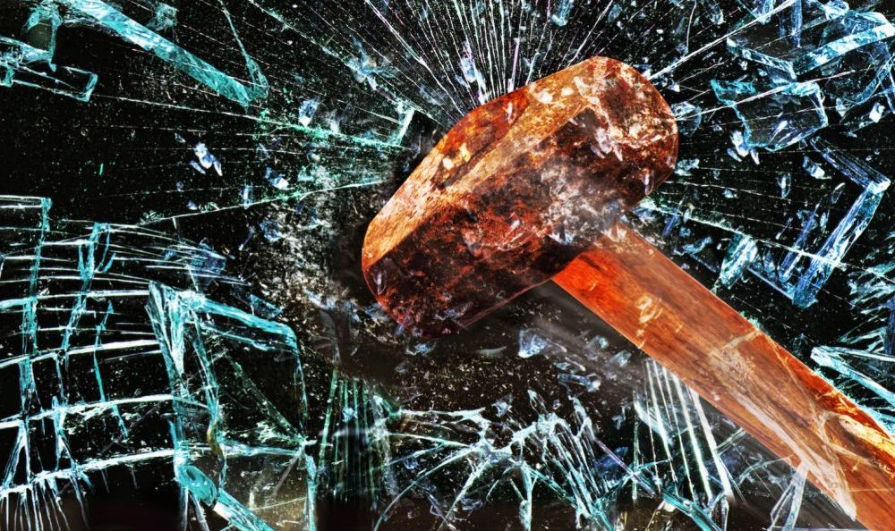 Smashing Glass