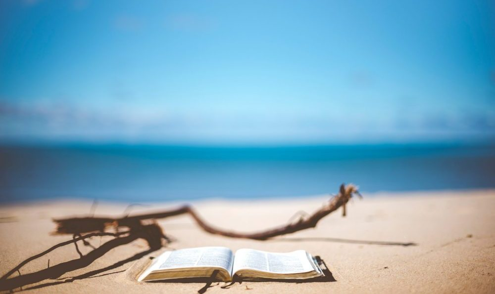 Bible On The Sand